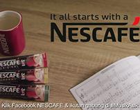 nescafe 3in1 mix TVC 15 scnd
