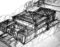 bali style sketch