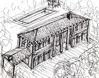 TOSCANA HOUSE SKETCHES