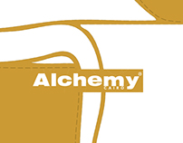 Alchemy magazine advertisement design