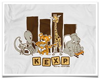 KEXP Graphic Apparel
