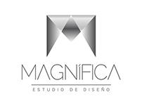 Logo Magnifica Estudio de Diseño