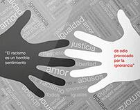 Campaña Social: Cartel Tipográfico
