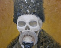 Taras Shevchenko portrait