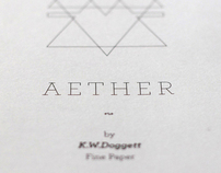 Aether: paper stock booklet