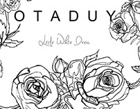 OTADUY lookbook Wedding dress - Collection 2014