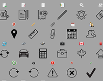 ExpensAble Corporate Mobile Icon Set