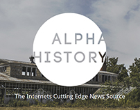 Alpha History Website Design