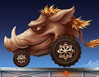 Warthog Enemy Vehicle