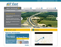 407 East Development Group Website and Newsletter
