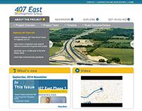 407 East Development Group Website and Newsletter