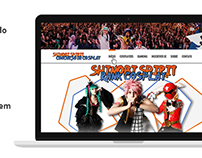 Shinobi Spirit - Rank Cosplay | Website em Wordpress