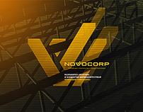 NOVOCORP | Logo & Identity