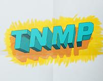 Tenampa Lettering Poster