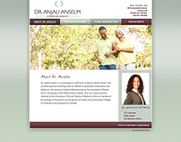 Dr. Anjali Anselm Brand Identity and Website