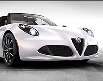 Alfa Romeo 4C Spider - video reveal