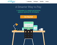 e-onlinedata - Web Developer Landing Page