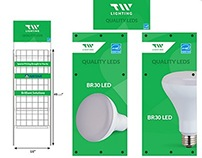 TW Lighting - Shipper Stands
