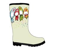 Boots & umbrellas