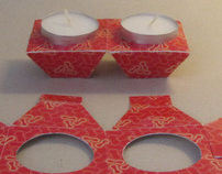 disposable candlesticks