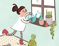 Ella Takes up Gardening