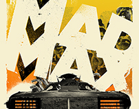 Mad Max // AIGA Popcorn Posters 2014 Summer Show