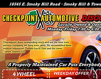 Checkpoint Automotive Discount Card