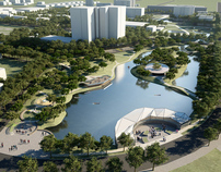 Nobel Lake Park Redevelopment Concept