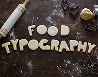 Food Typography Photo Book