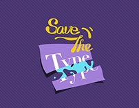 Save The Type | UI Design
