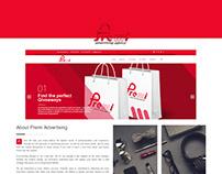 Premi Advertising Agency website