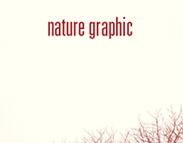 Coverlayout »nature graphic«
