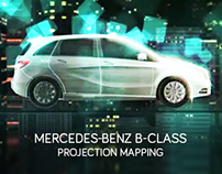 Mercedes-Benz B-Class - Projection Mapping