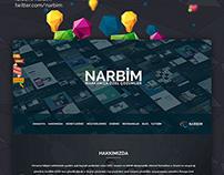 Narbim Agent - Parallax Web Site