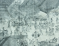 tracing~Riverside Scene at Qingming Festival~NO,1