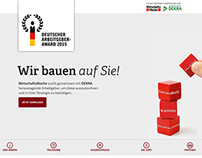 Deutscher Arbeitgeber-Award – Website