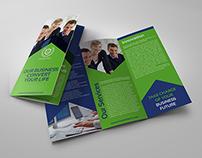 Corporate Brochure Tri-Fold Template Vol.13