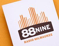 Radio Milwaukee Logo and Identity