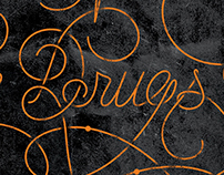 The War on Drugs tour poster