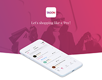 TagOn Fashion - App Design