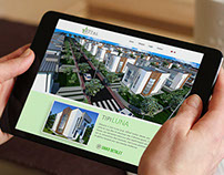 Royal residence website Design