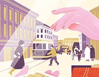 Novel illustration series
