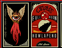 Full Moon Howlapeno Label