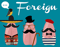 foreign tongues
