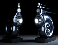 Bowers and Wilkins Nautilus speakers