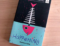 """Happening"" Book cover"