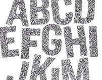 Intricate Alphabet