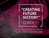 QOROS-New product promotion website