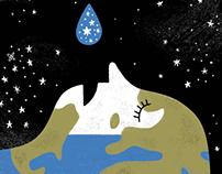 Big questions, Little Drawings / Space Water