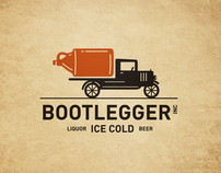 Bootlegger. A small liquor store in St Paul Nebraska.